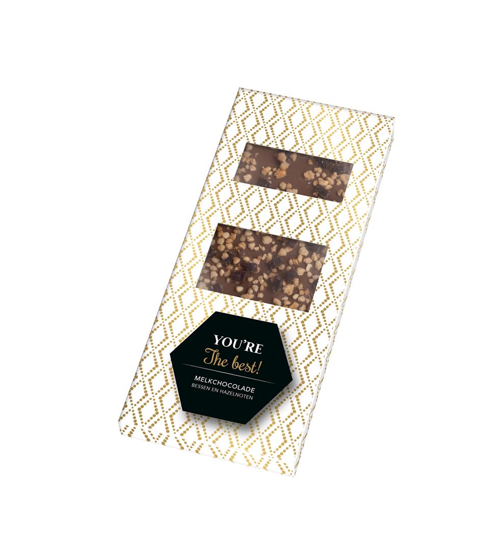 Productafbeelding Chocoladereep Many thanks 80g doos