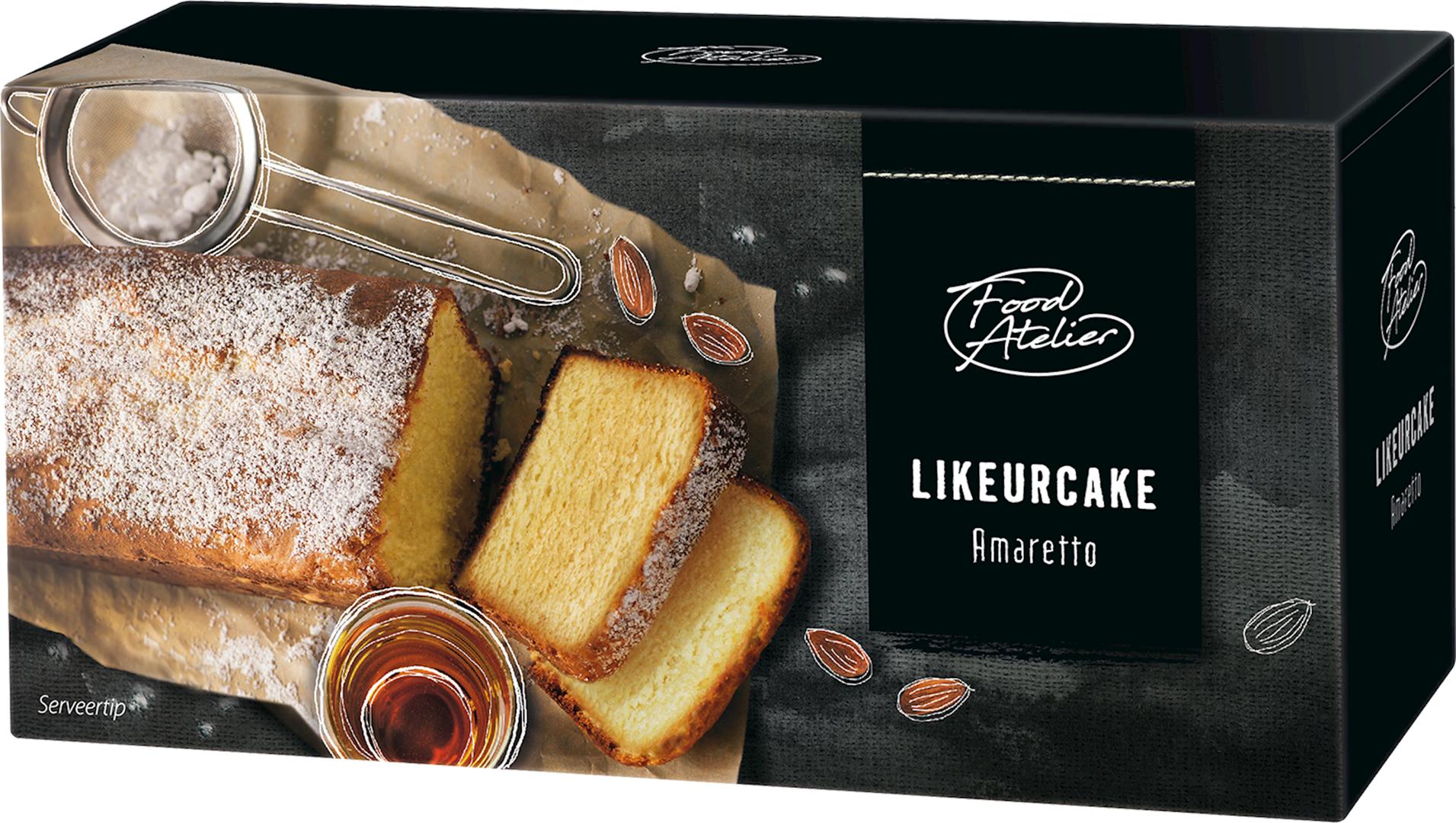 Productafbeelding Likeurcake Food atelier 400g doos