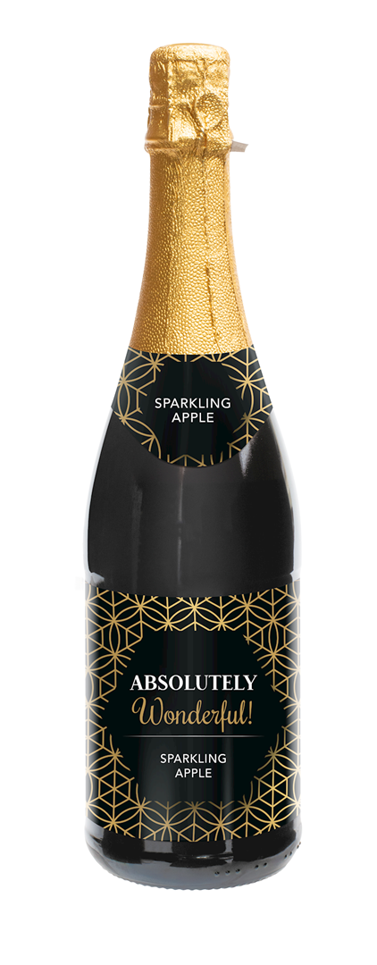 Productafbeelding Sparkling appelsap Many thanks 750ml fles