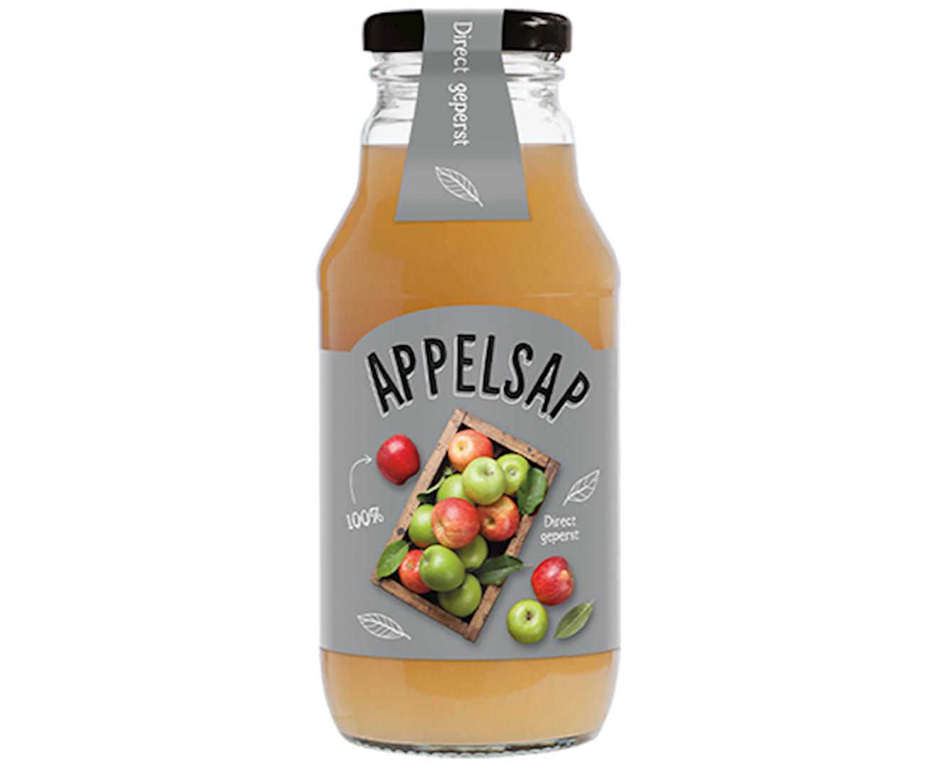 Productafbeelding Appelsap Zilver 330ml fles