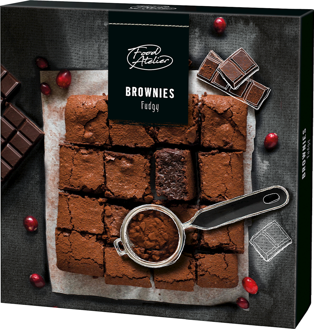 Productafbeelding Brownies Food atelier 285g doos