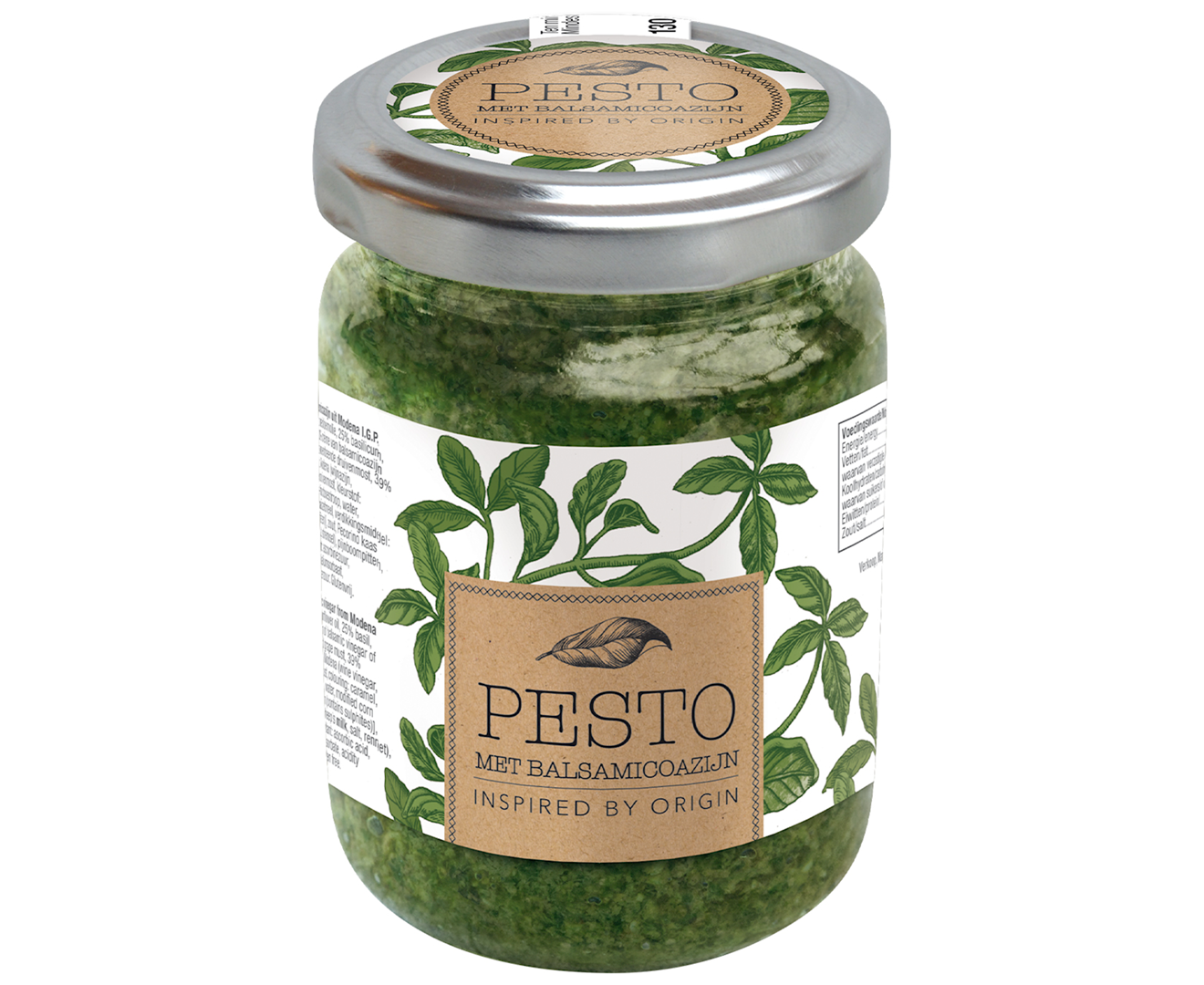 Productafbeelding Pesto balsamico Inspired by origin 130g pot