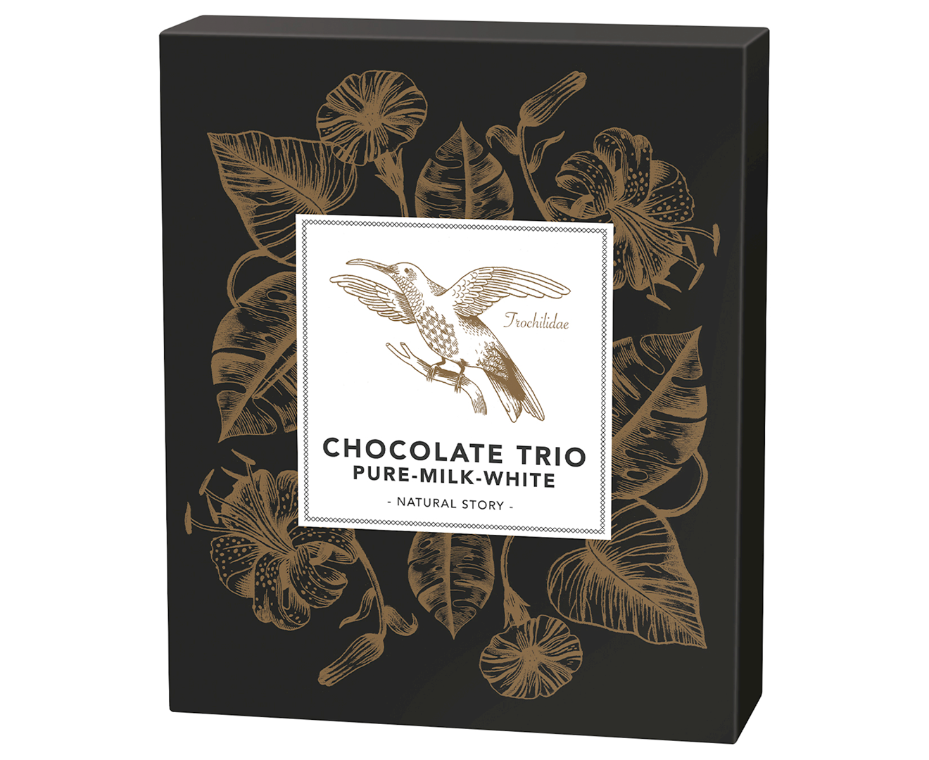 Productafbeelding Chocotrio Natural story 65g doos