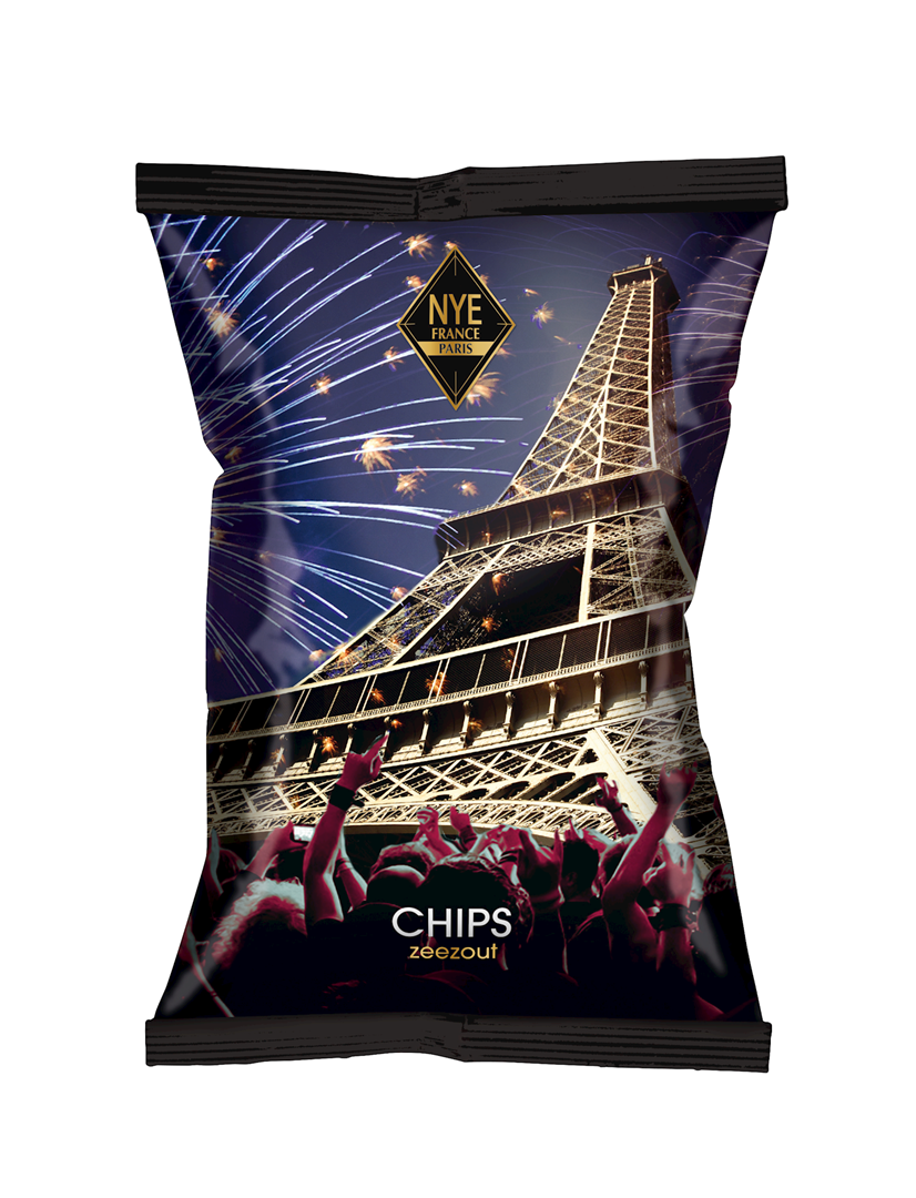 Productafbeelding Chips New years eve 90g zak