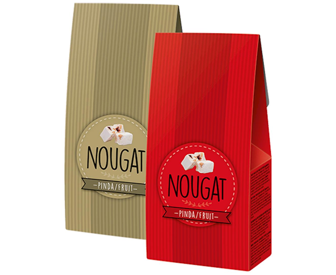Productafbeelding Nougat Rood/Goud 130g doos