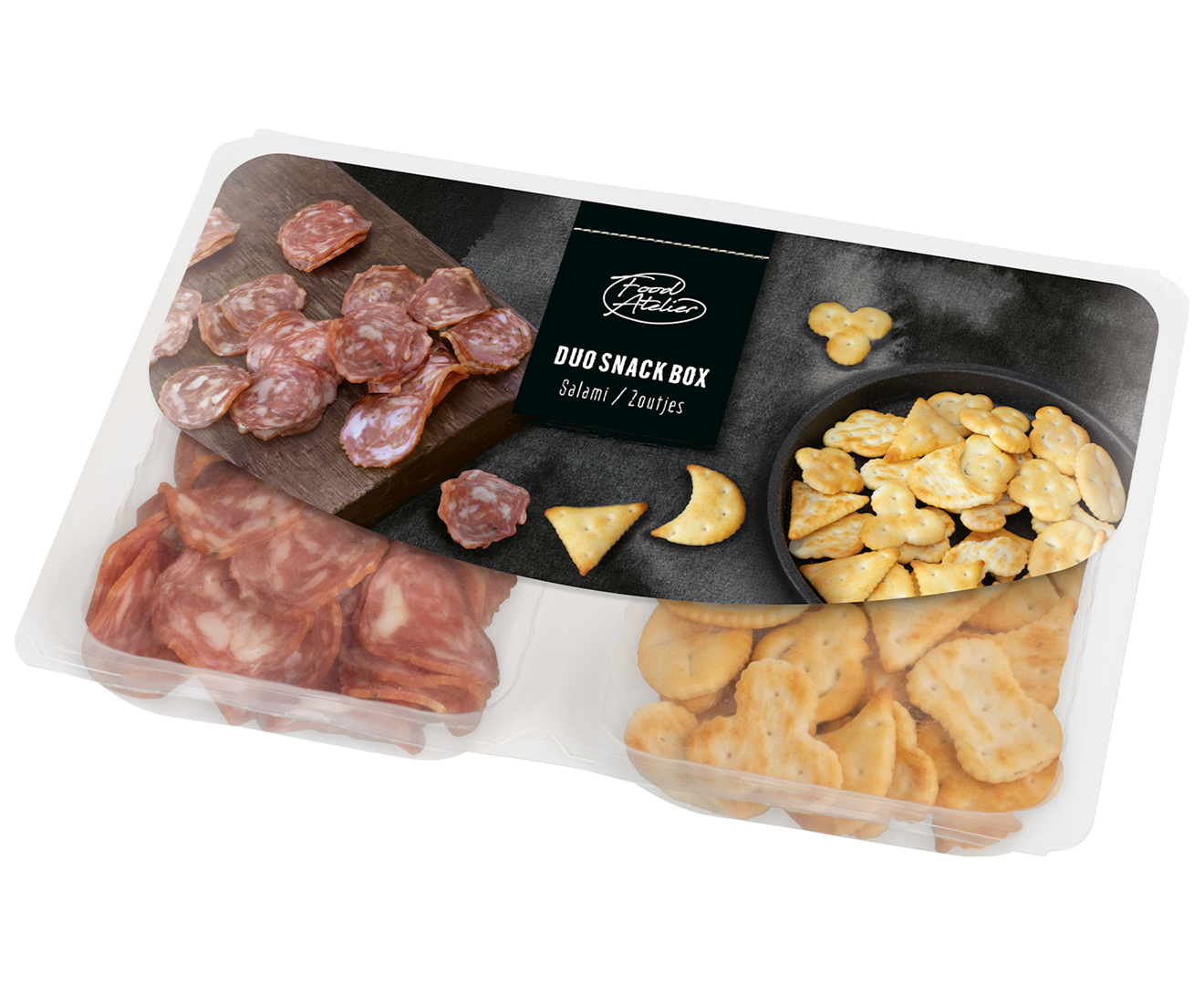 Productafbeelding Duo snack box Food atelier 85g tray