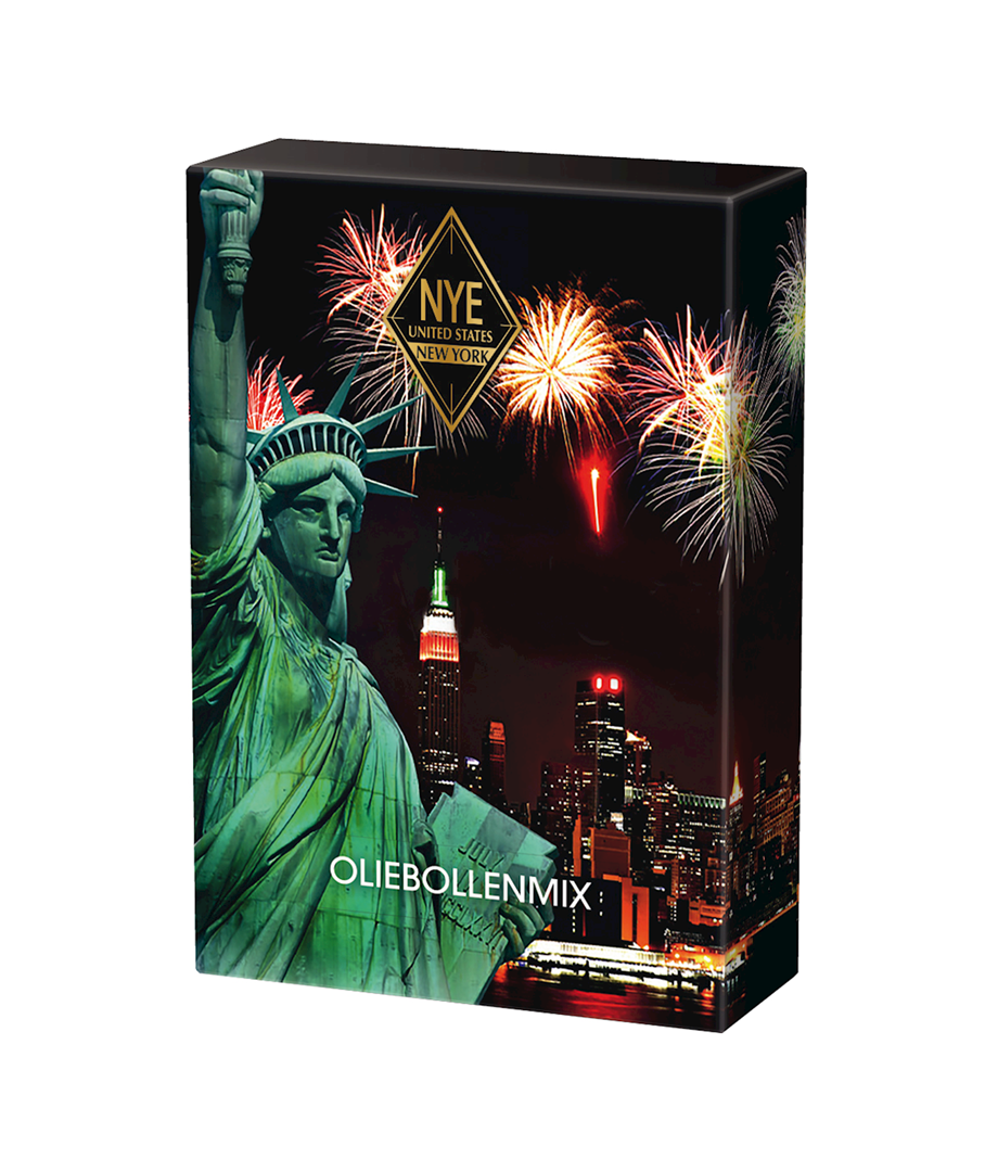 Productafbeelding Oliebollenmix New years eve 350g doos