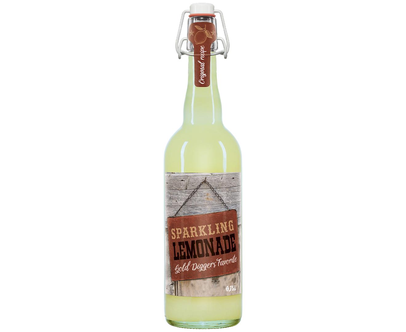 Productafbeelding Limonade western saloon snacks 750ml fles