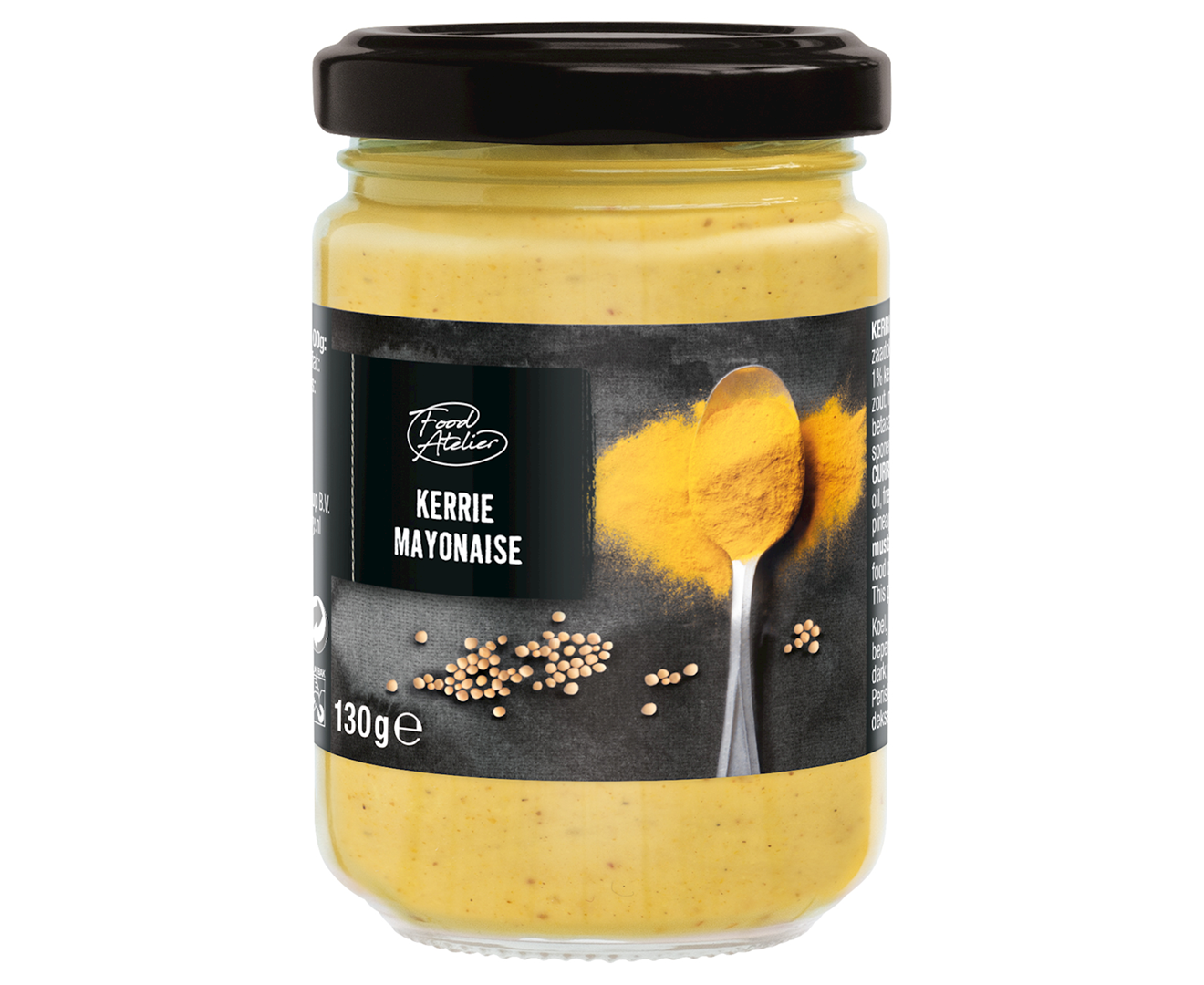 Productafbeelding Kerrie mayonaise Food atelier 130g pot