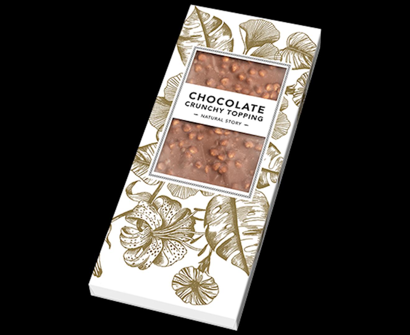 Productafbeelding Chocoladereep Natural story 80g doos