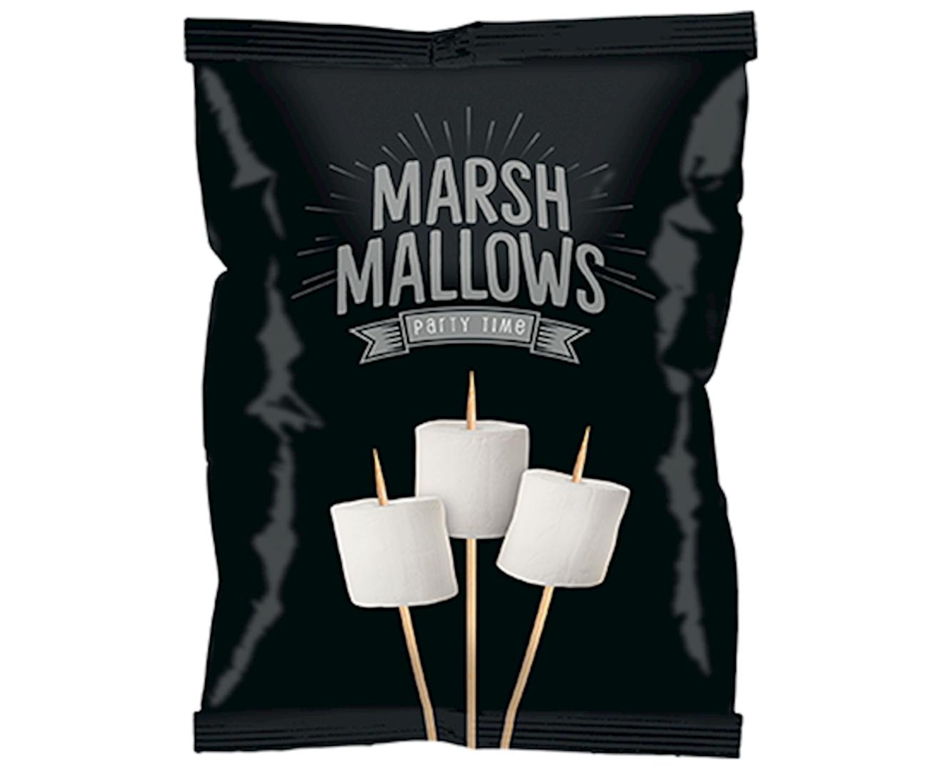 Productafbeelding Marshmallows Zwart 150g zak