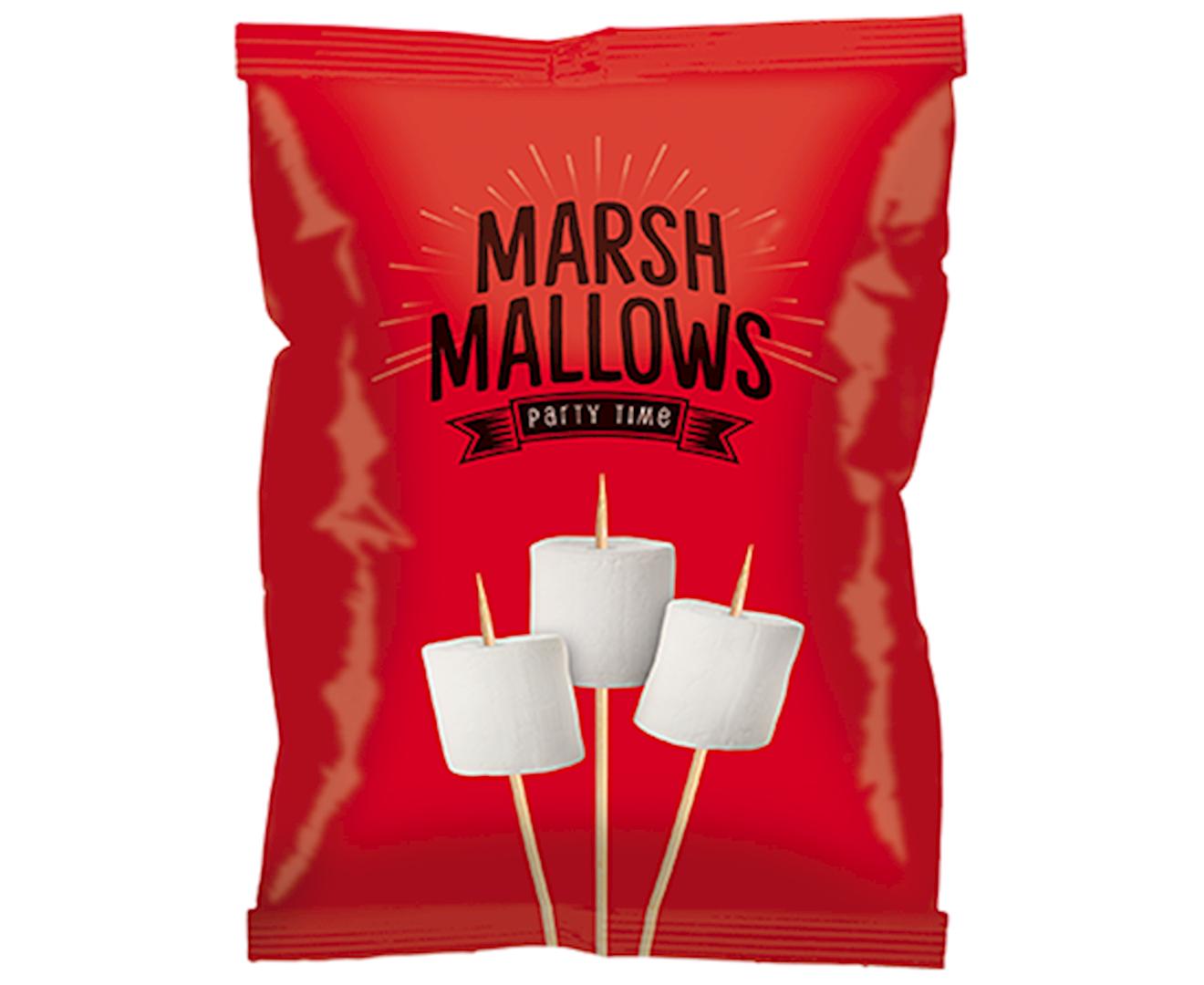 Productafbeelding Marshmallows Rood 150g zak