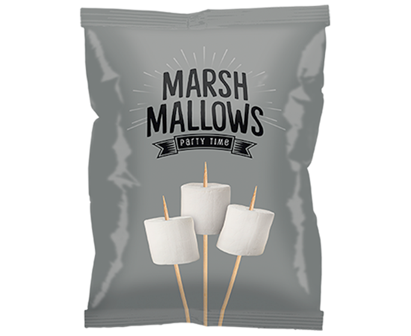 Productafbeelding Marshmallows Zilver 150g zak