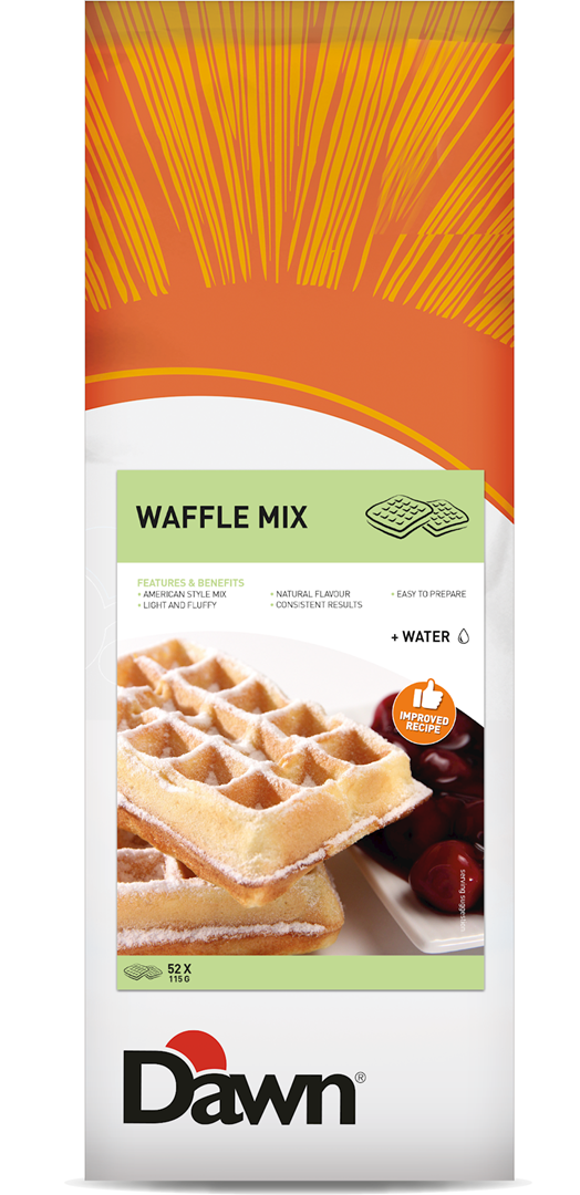 Productafbeelding Dawn Waffle Mix 3,5 kg zak