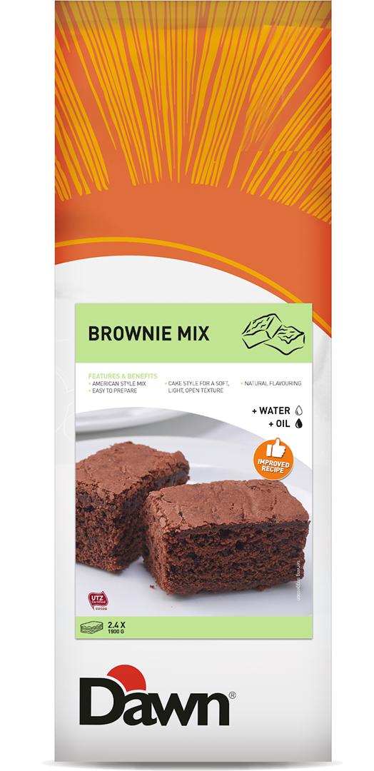 Productafbeelding Dawn Brownie Mix 3,5 kg zak