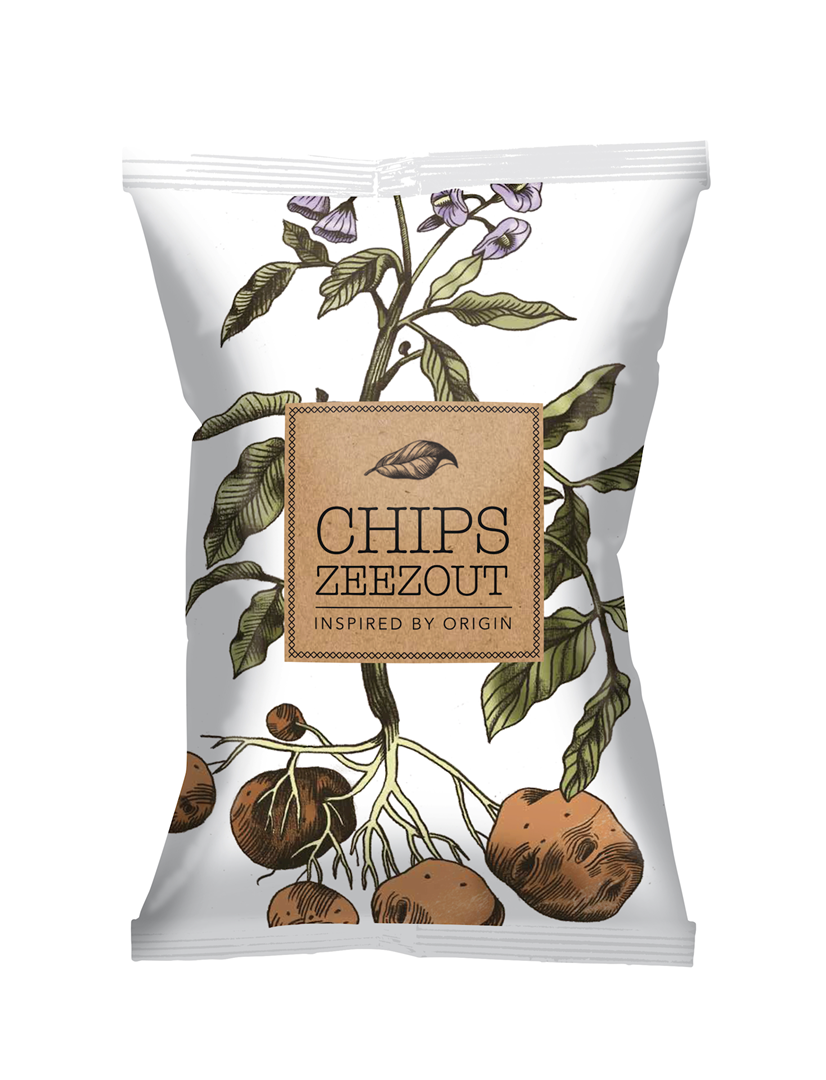 Productafbeelding Chips Inspired by origin 90g zak