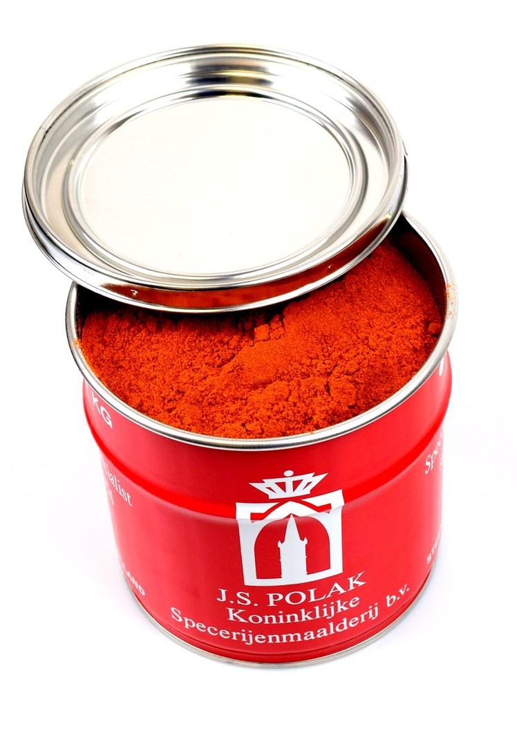 Productafbeelding Chilipoeder 1 kg blik