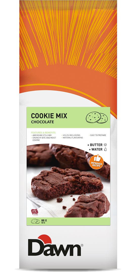 Productafbeelding Dawn Cookie Mix Chocolate 3,5 kg zak