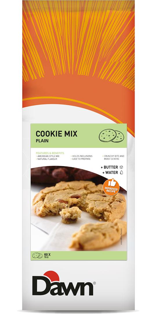 Productafbeelding Dawn Cookie Mix Plain 3,5 kg zak