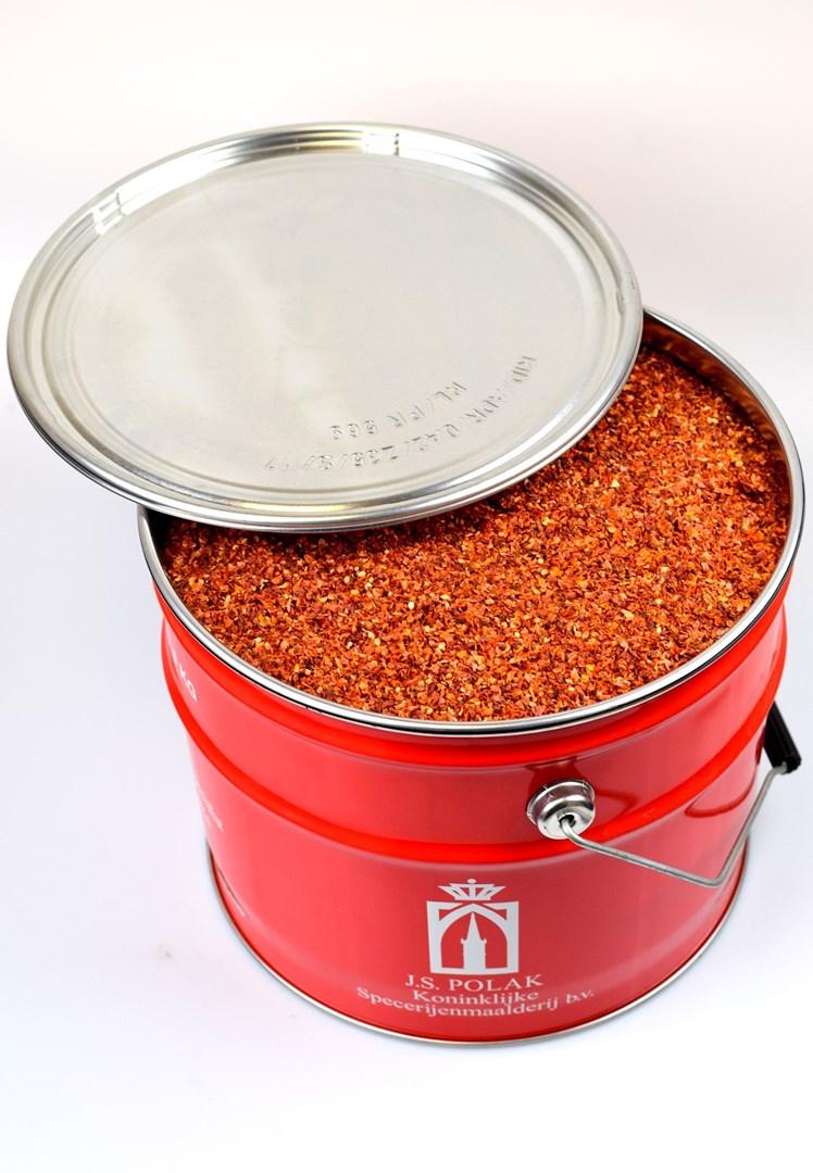 Productafbeelding Tomatenstukjes 1,0-1,5 mm 5 kg blik