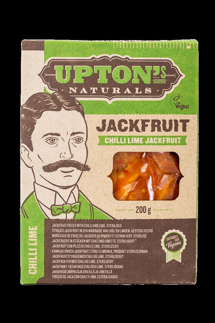 Productafbeelding UPTON'S NATURALS JACKFRUIT CHILLI LIME 200 G DOOS