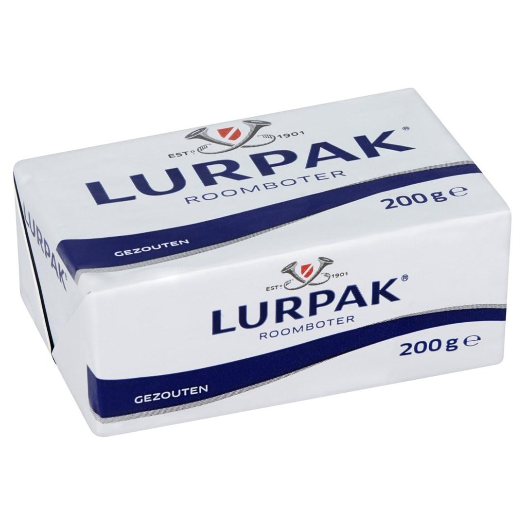 Productafbeelding Lurpak boter gezouten 200gr