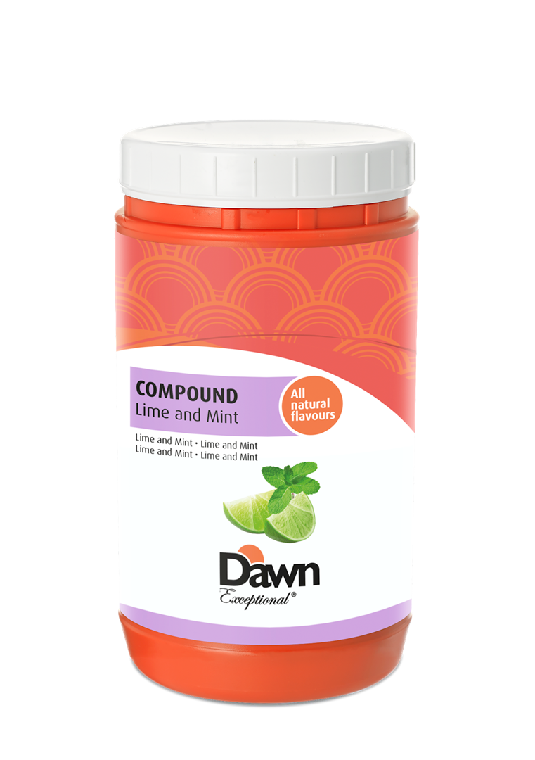 Productafbeelding Dawn Compound Limoen en Mint 1 kg pot