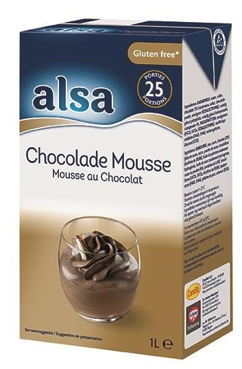 Productafbeelding Alsa Mousse Chocolade vloeibaar 6x1L