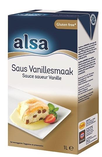 Productafbeelding Alsa Saus Vanille 6x1L