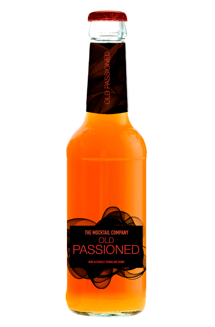 Productafbeelding THE MOCKTAIL COMPANY FRISDRANK OLD PASSIONED 275 ML FLES