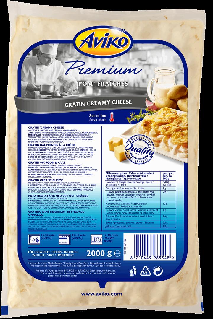 Productafbeelding Aviko Pom' Gratin 40% Cream Cheese 2000g
