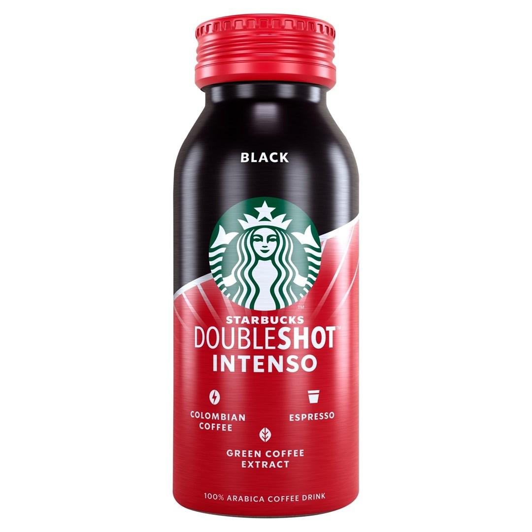Productafbeelding Starbucks Koffiedrank Black Intenso 200 ml Fles