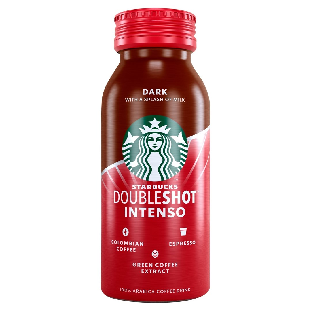 Productafbeelding Starbucks Koffiedrank Dark Intenso 200 ml Fles