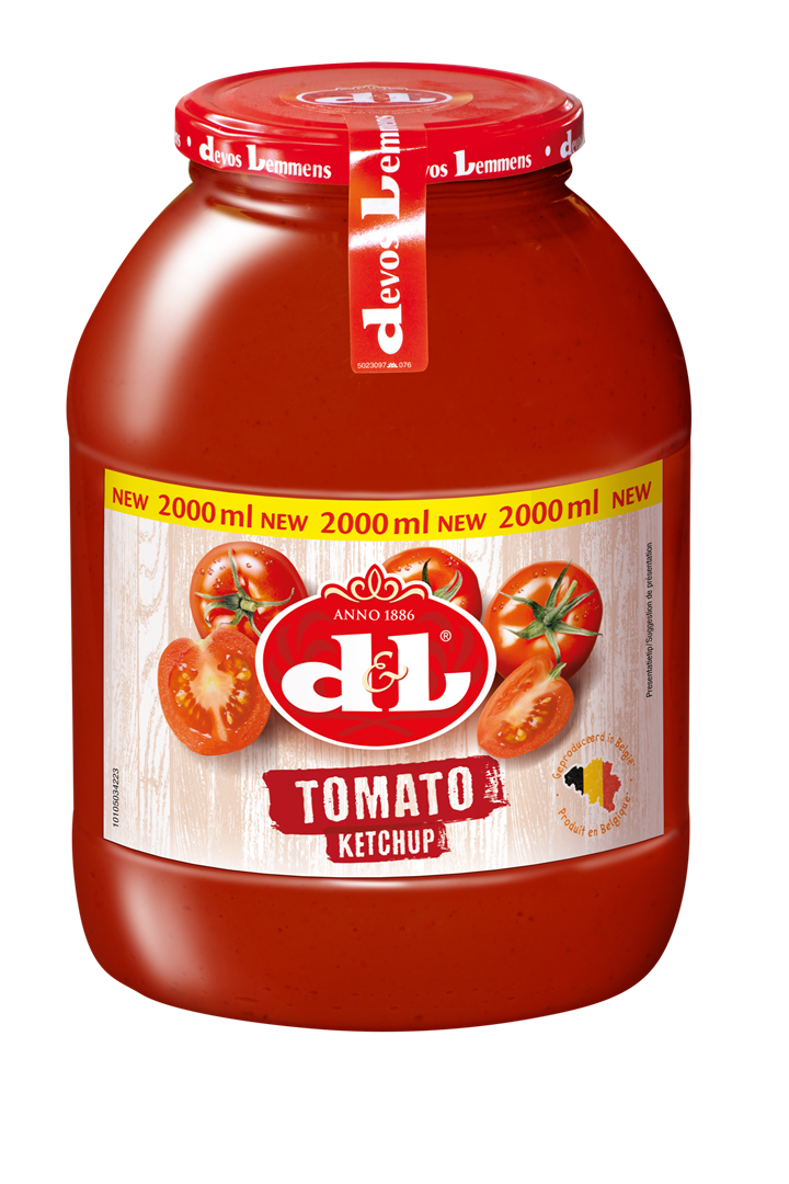 Productafbeelding D&L Saus Tomato Ketchup 2 l Bus