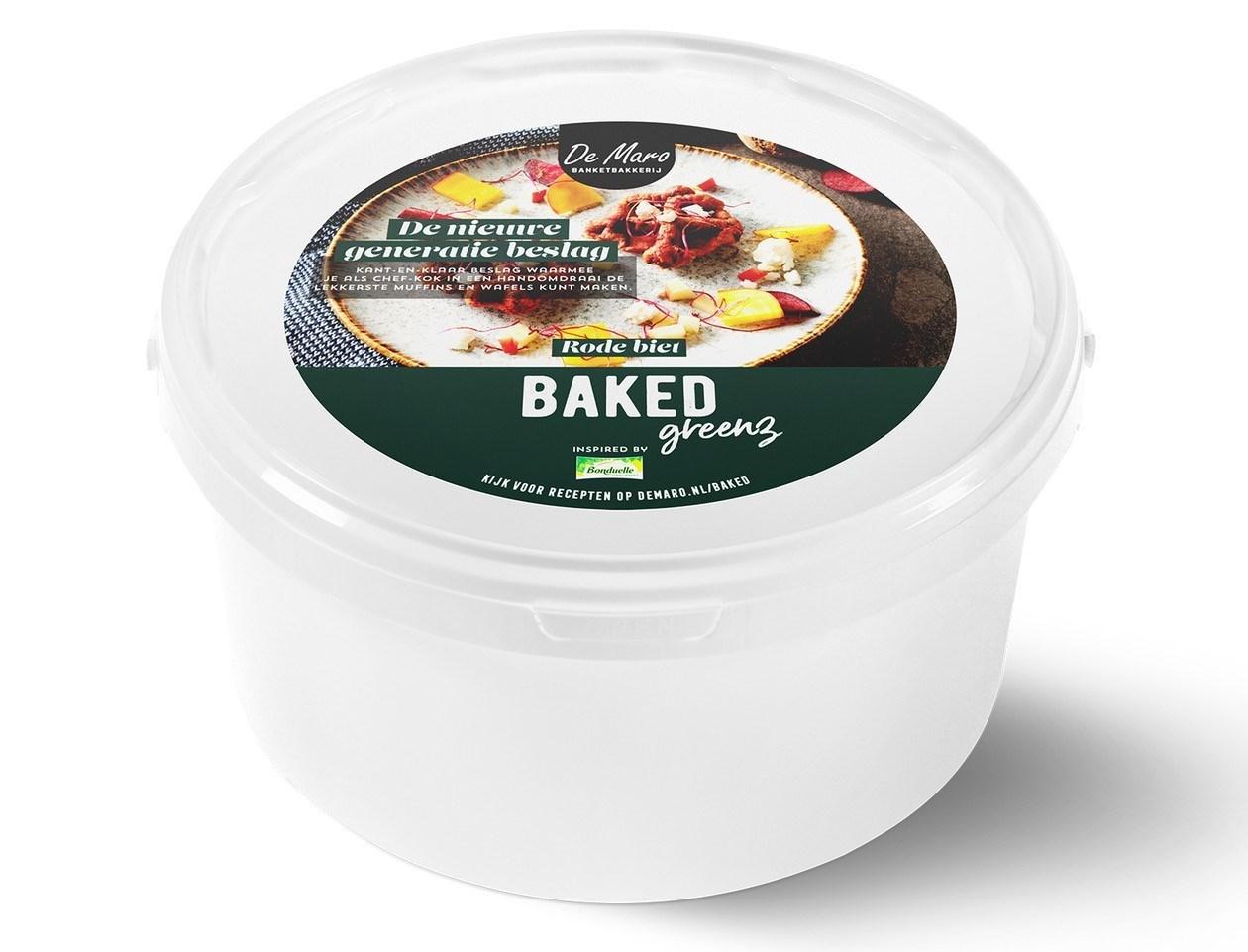 Productafbeelding Baked Greenz - Rode Biet Bake-off 3 kg