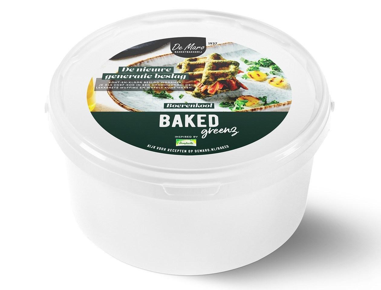 Productafbeelding Baked Greenz - Boerenkool Bake-off 3 kg