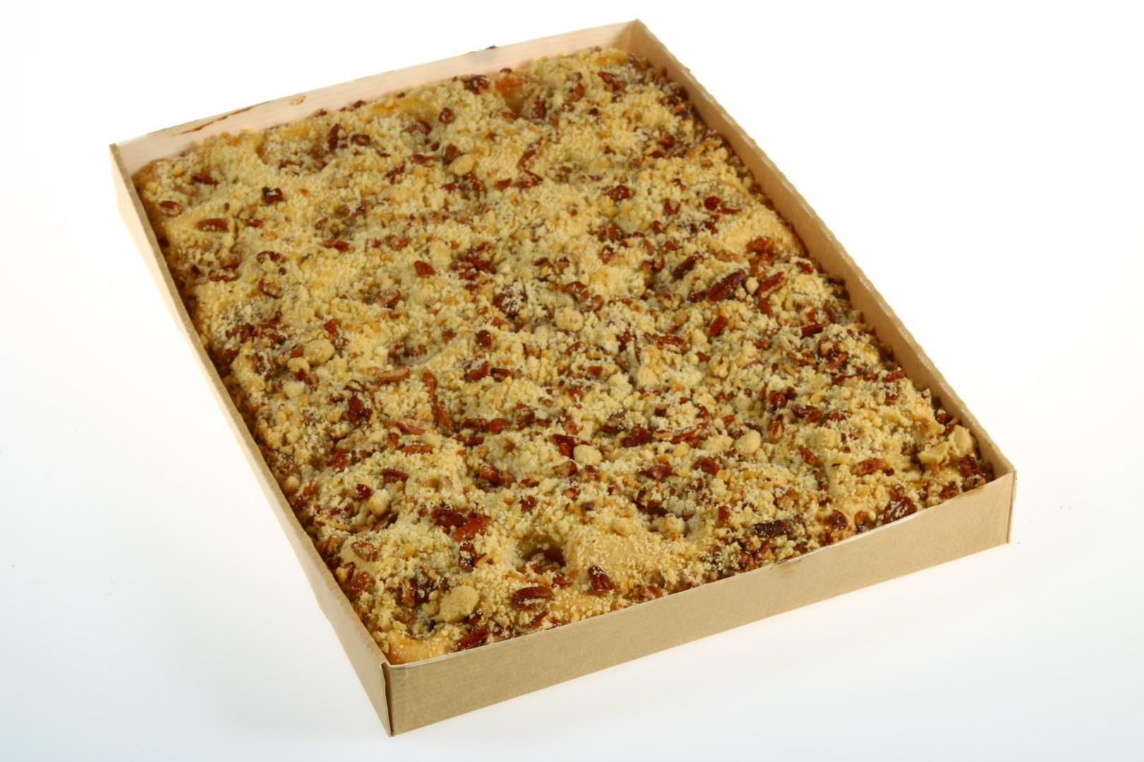 Productafbeelding Plaatcake Vegan appel noten