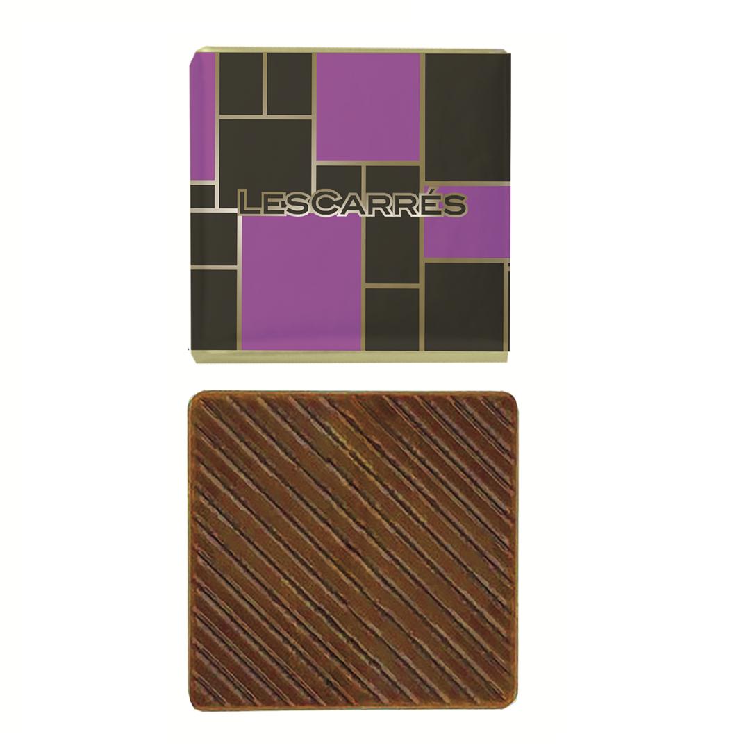 Productafbeelding Les carrés melk chocolade 400x4,5g