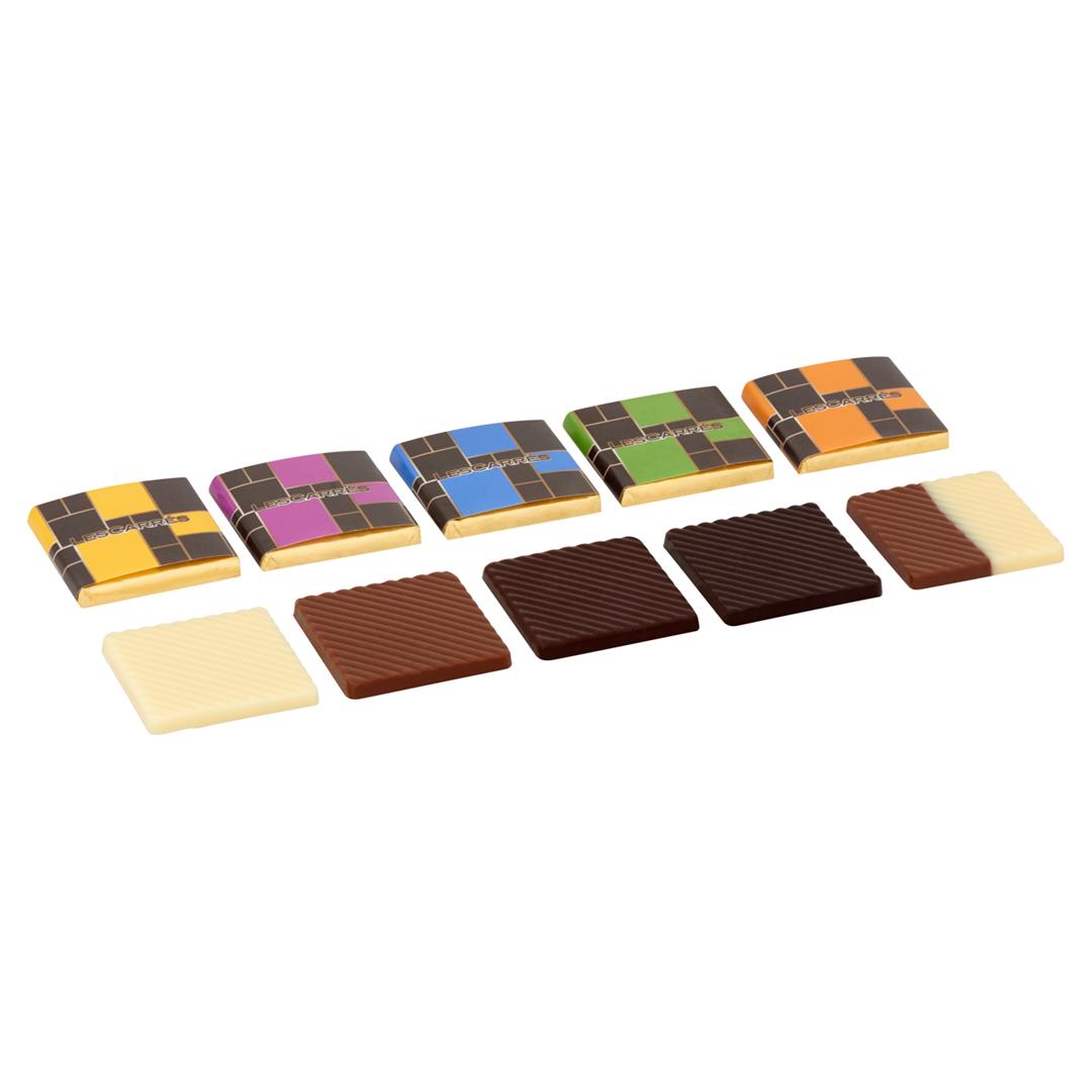 Productafbeelding Les carrés chocolade assortiment 400x4,5g