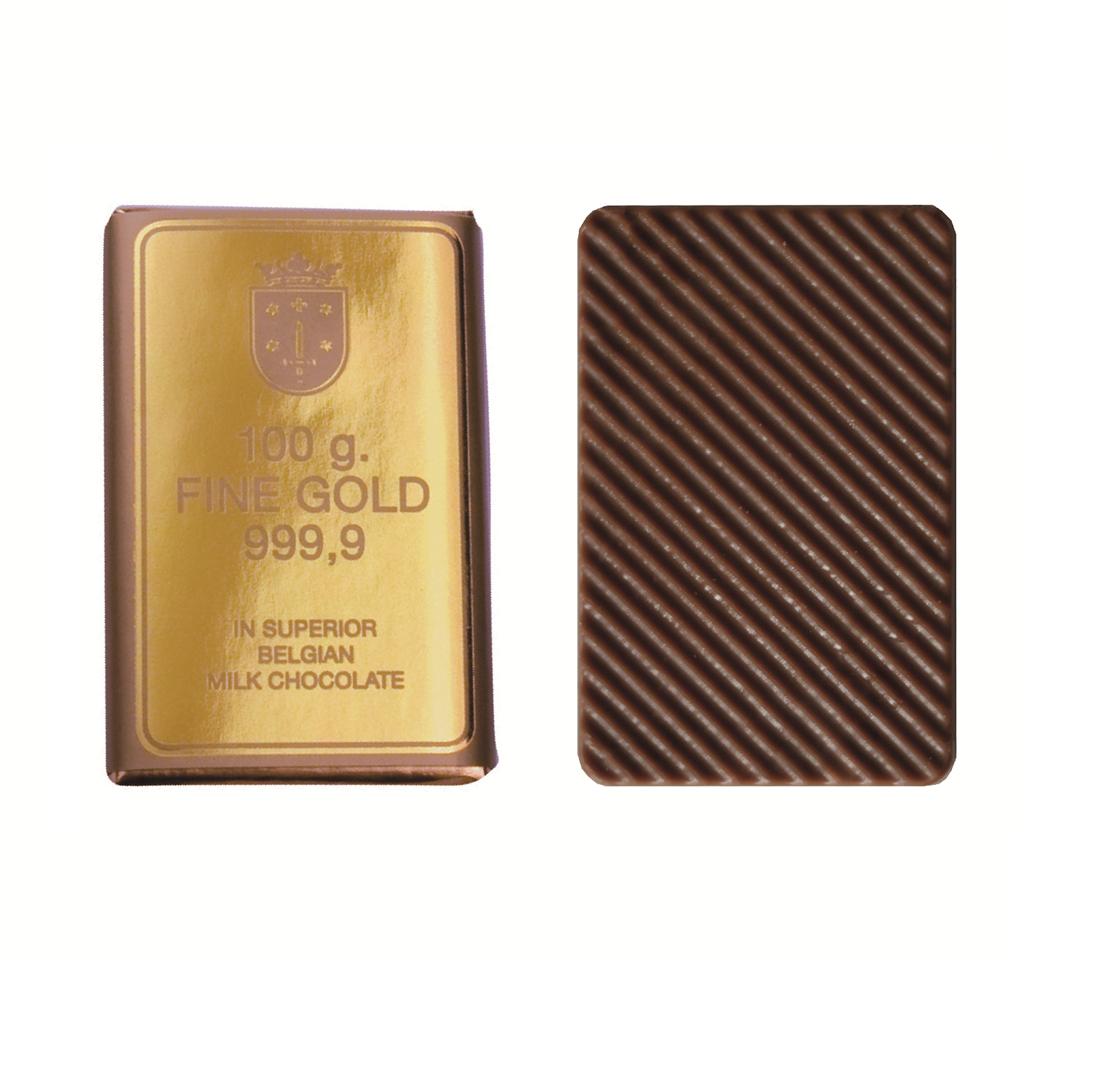Productafbeelding Fine Gold melk chocolade 210x8,5g
