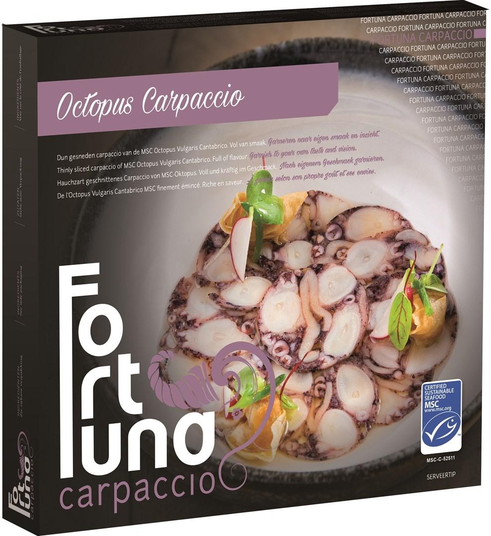 Productafbeelding Fortuna Octopus carpaccio 2x4x50
