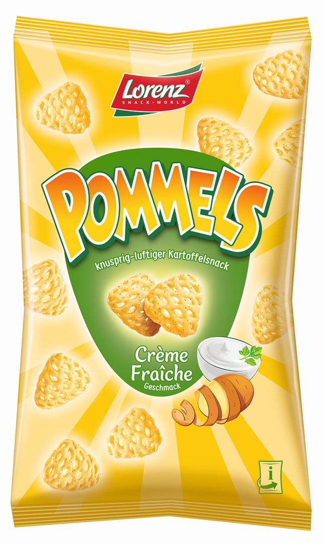 Productafbeelding LORENZ POMMELS CHIPS CRÈME FRAÎCHE 75 G ZAK