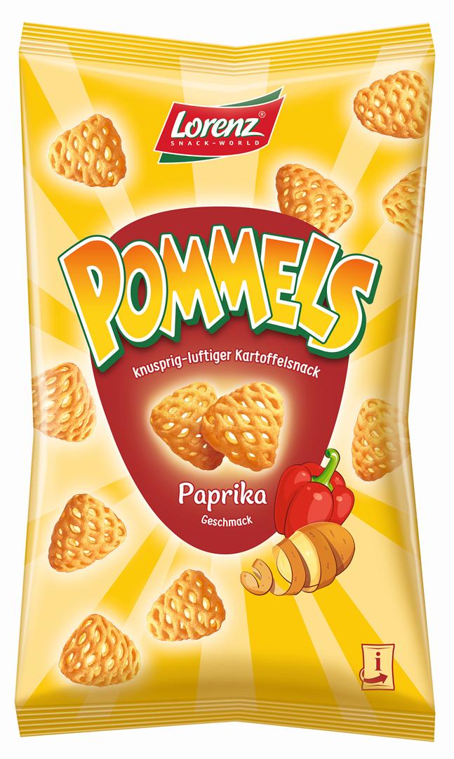 Productafbeelding LORENZ POMMELS CHIPS PAPRIKA 75 G ZAK