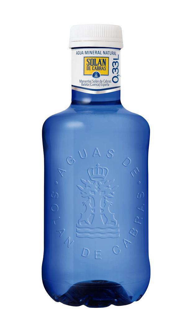 Productafbeelding SOLAN DE CABRAS MINERAALWATER 0,33 L FLES