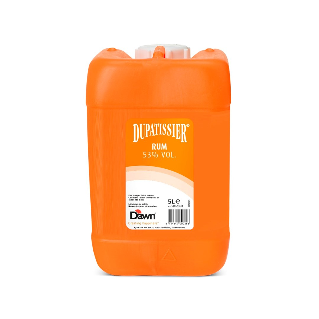 Productafbeelding Dawn Dupatissier Rum 53% 5L Jerrycan