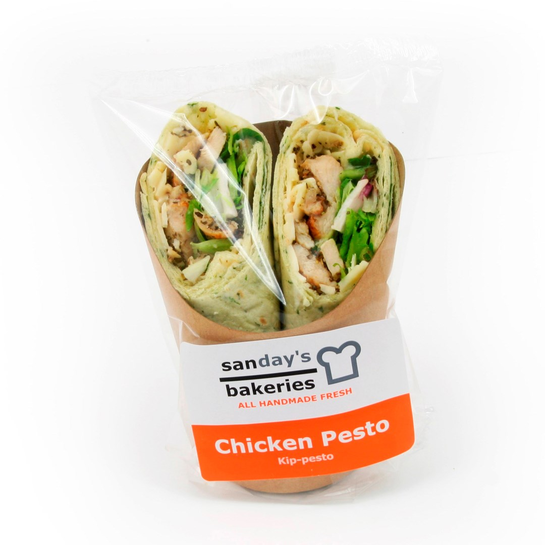 Productafbeelding Wrap chicken pesto