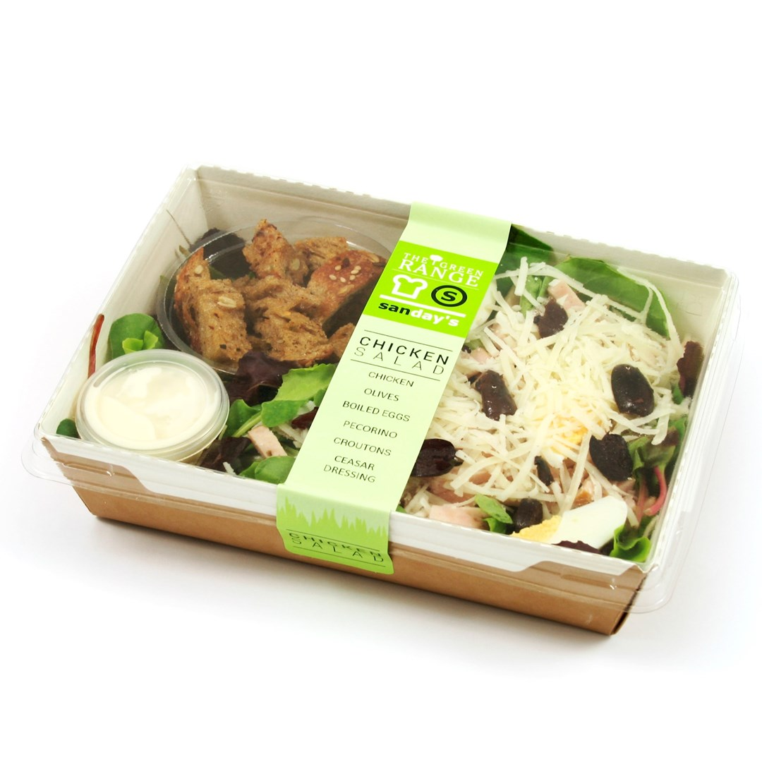 Productafbeelding Green salad chicken