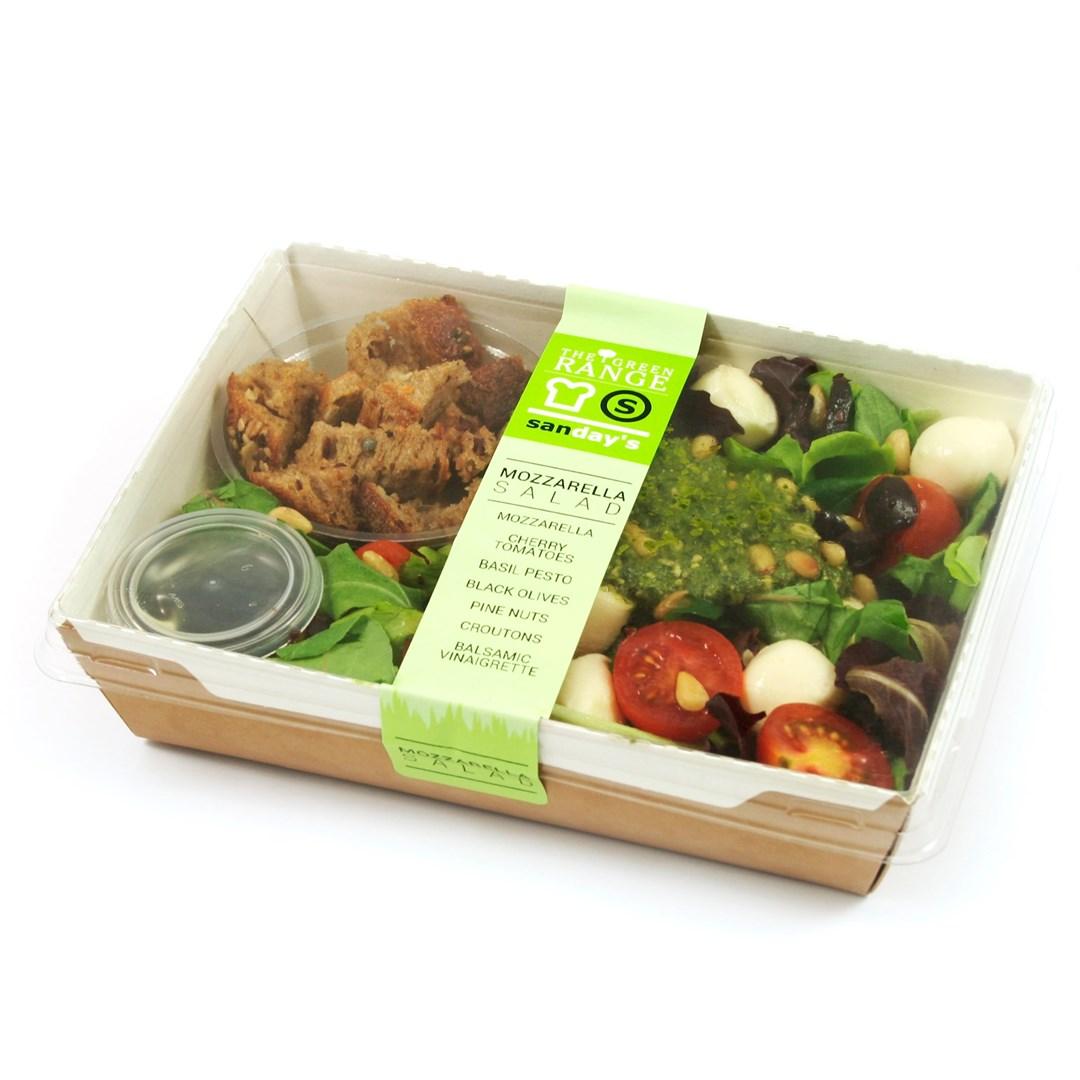 Productafbeelding Green salad mozzarella