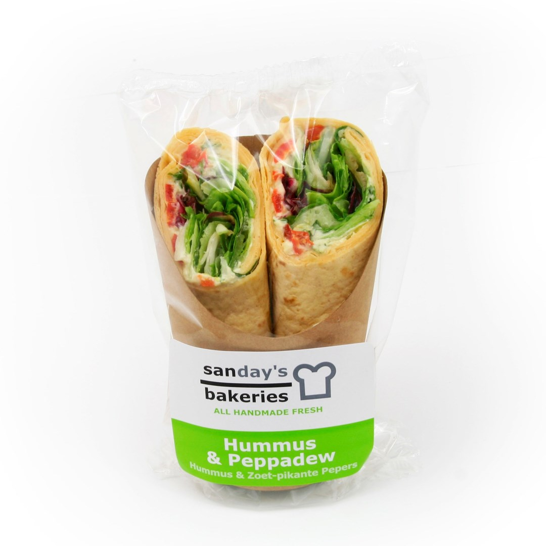 Productafbeelding Wrap Hummus & Peppadew