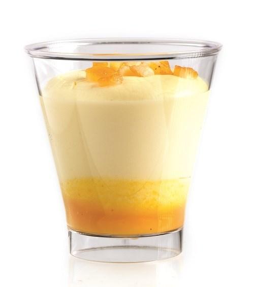 Productafbeelding Dessert kunstofglaasje Mango-Passie